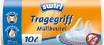 Antibakteriální pytle na odpad s uchy